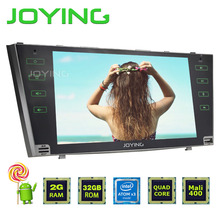 2GB RAM Android 5.1 Car stereo player RDS Quad Core Double 2din 9'' Screen steering-wheel Radio GPS Navi For TOYOTA CAMRY AURION