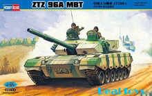 Hobby Boss MODEL 1/35 SCALE 82464 ZTZ96 MBT plastic model kit(China)