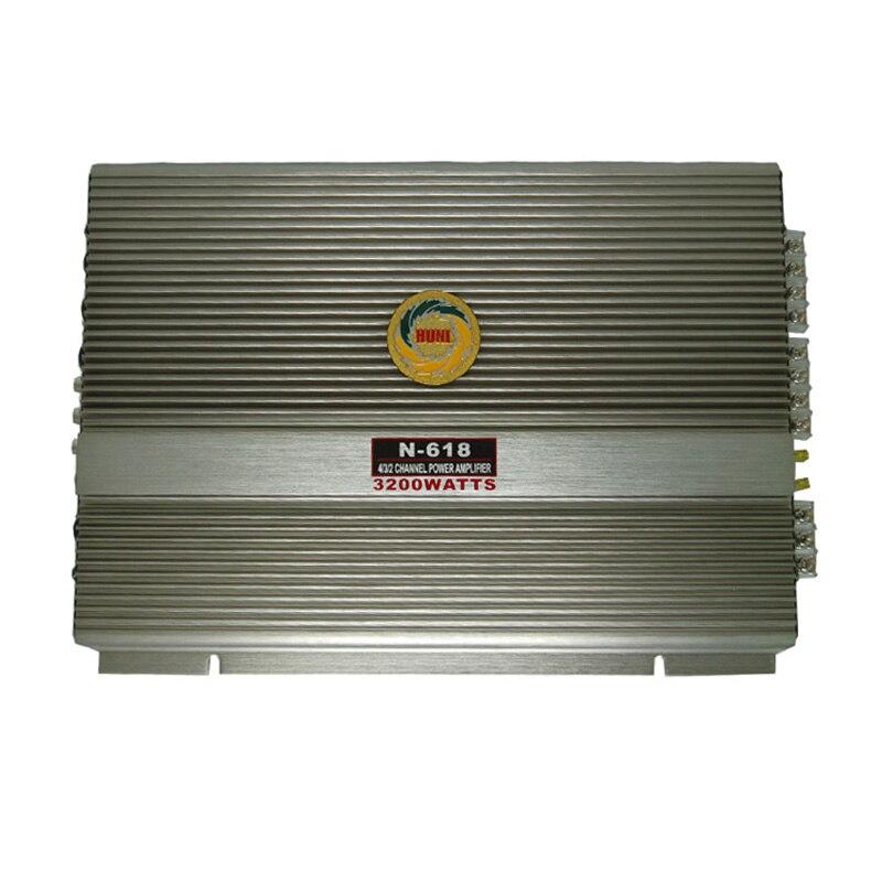 Car amplifier in multichannel amplifiers