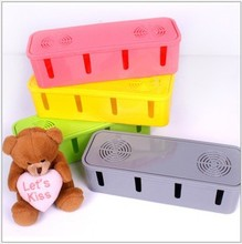Safety Socket Outlet Board Container Fashion Cables Storage Organizer Case Box Colors