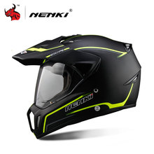 NENKI Full Face Motorcycle Helmet Motocross Helmet ATV Moto Helmet Cross Downhill Off-road Motorcycle Helmet DOT 5Color(China)