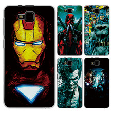 "For ZTE Blade A5 A5Pro 4.0"" Case Cover Charming Marvel Avengers Captain America Iron man Perfect Fundas For ZTE Blade A5 Pro(China)"