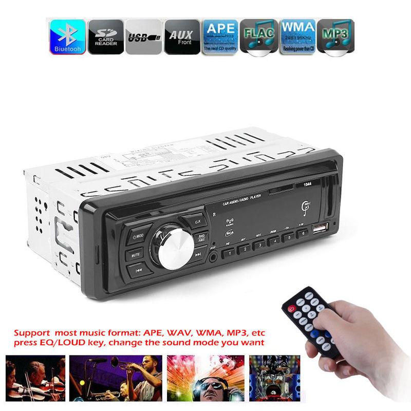 BCMaster DC12V Car Stereo Audio Radio MP3 Player USB Input Handsfree Call LCD Display MP3 Music Player