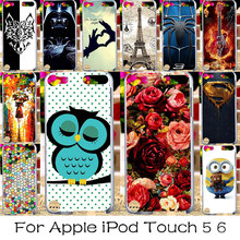TAOYUNXI DIY Plastic Phone Cases Covers For Apple iPod Touch 5 5th 6 6th 5G touch5 touch6 Housing Bag Shell Skin Cover Back Case(China)
