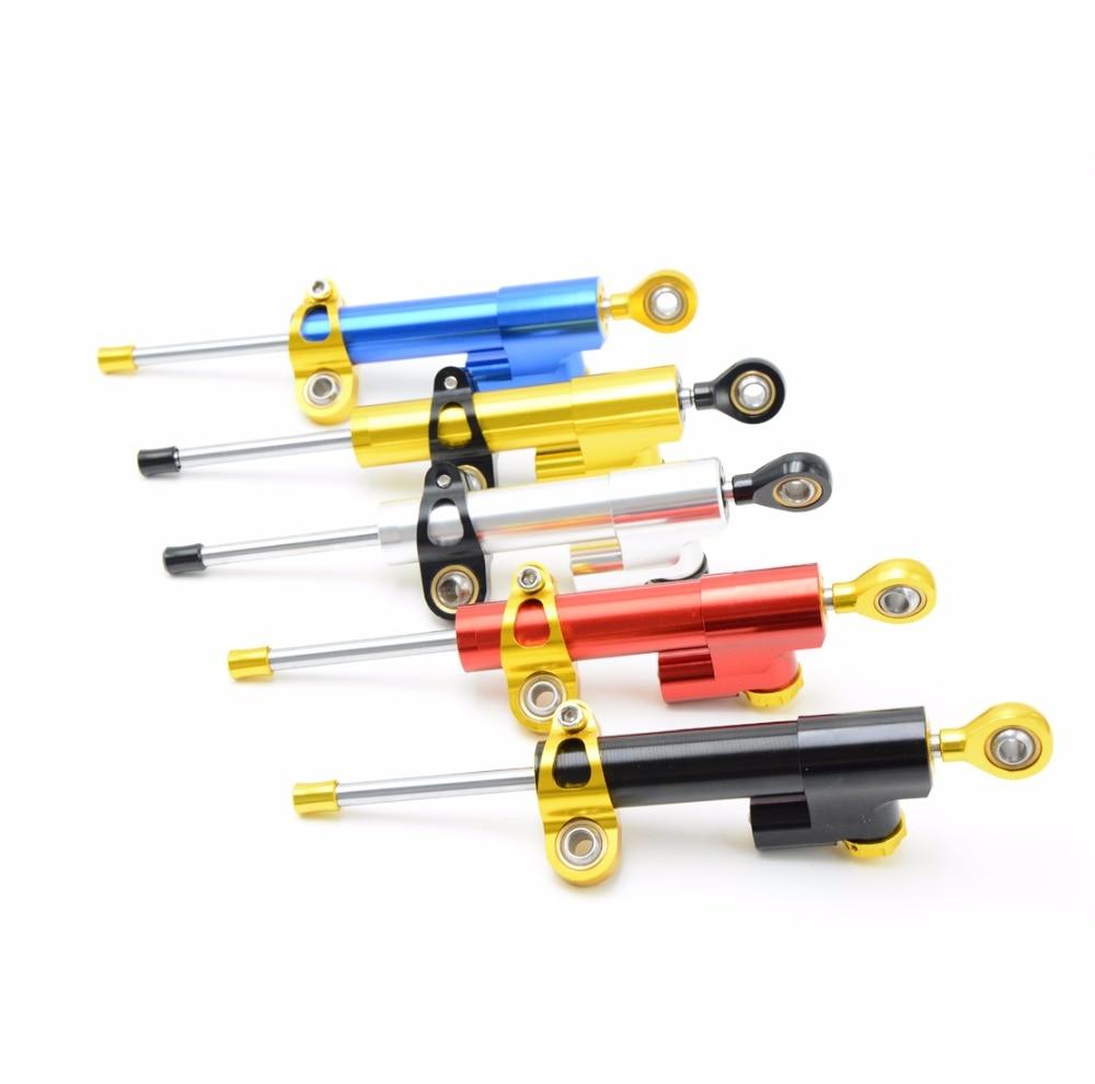 CNC Motorcycle Damper Steering Stabilizer Moto Linear Reversed Safety Control For KTM 200 390 690 990 1290 Duke Super Duke R SMC<br>