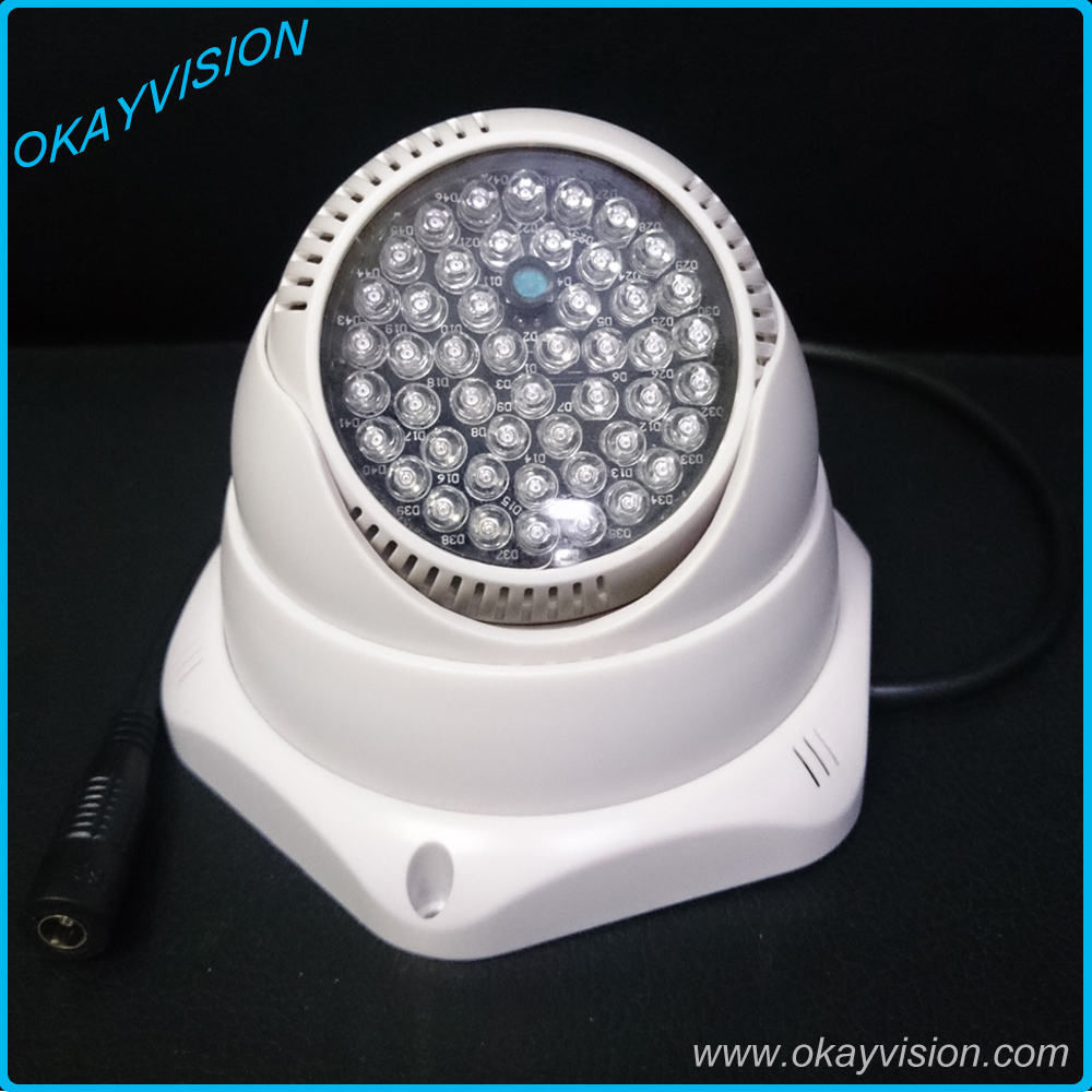 New! 30M IR distance 48Pcs 12mil IR lamp 850nm Fill Lighting Infrared Led NightVision IR illuminator Indoor for cctv Camera<br><br>Aliexpress
