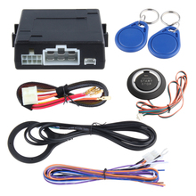 Universal RFID car alarm system with remote engine start stop, push button start stop, work with original car alarm(China)
