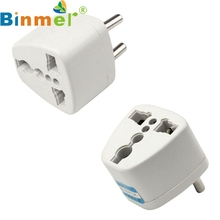 Top Quality New Arrival Universal AU US UK to EU AC Power Plug Travel Adapter Outlet Converter Socket JUN 29