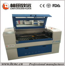 Jinan mini cnc lazer co2 carver/co2 laser 90w with sealed co2 laser tube 6090