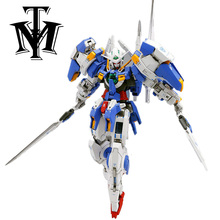 Dragon Momoko Anime Mobile suit 1/100 MG MB Model Gundam Avalanche Exia GN-001/hs-A01 Action Figure Puzzle assembled Robot Toy