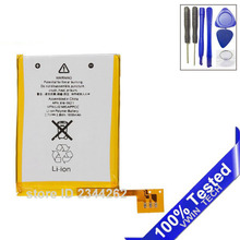 20Pcs/ Lot 100% New  3.7V Internal Replacement Battery For iPod Touch 5th 5 5g Generation with Repair Tools