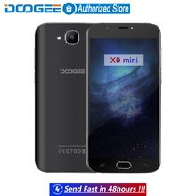 DOOGEE X9 mini Fingerprint mobile phones 5.0Inch HD 1GB+8GB Android 6.0 Dual SIM MTK6580 Quad Core 5.0MP 2000mAH WCDMA GPS