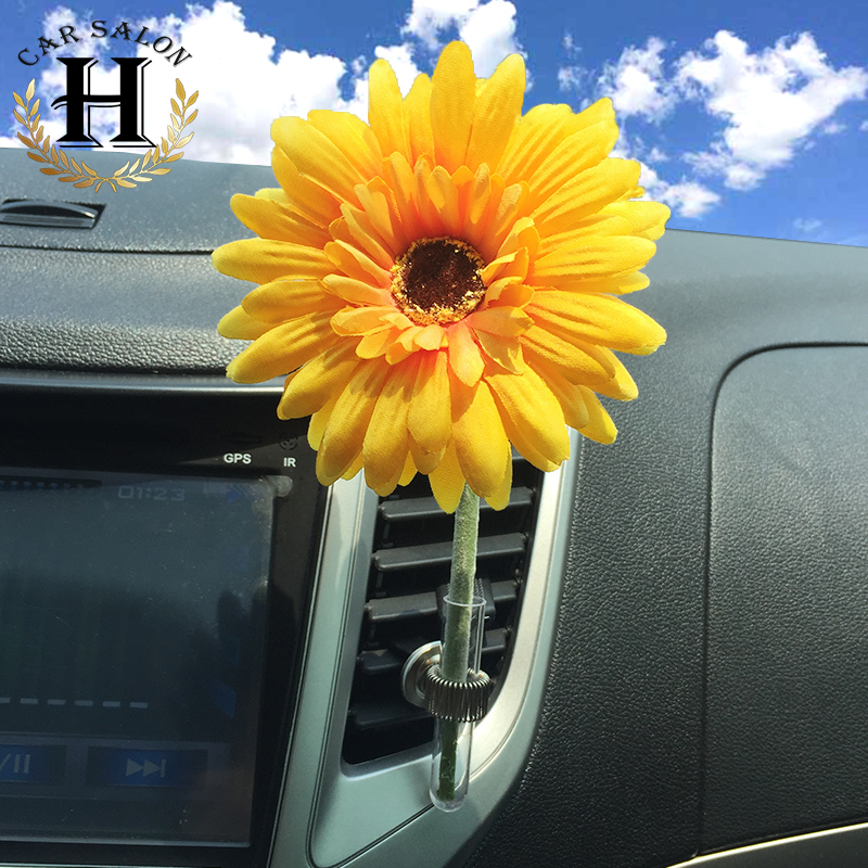 Car Air Freshener/ daisy vase Air Conditioning Ven...