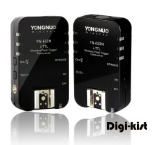 YN622N Yongnuo High Speed Sync wireless TTL flash transceiver/trigger for SB400 SB600 SB700 SB800 SB900 SB910 SU800 1/8000s