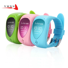 Smart Kids Safe Watch SOS Call GPS Location Finder Tracker for Child Girls Anti Lost Remote Monitor Baby Wristwatch PK Q50 T58