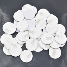 Buy 100pcs/Lot,NTAG213,NFC tags/RFID adhesive label/sticker,compatible nfc products,size dia 25mm,PVC 3M glue for $28.50 in AliExpress store