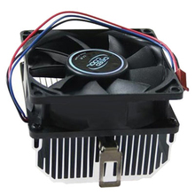 Super Mute 2800 RPM 12V CPU Cooler Aluminium Computer Rediator Heatsink PC Cooling Fan For AMD Athlon 64 X2 5600+/ AM2/745/939