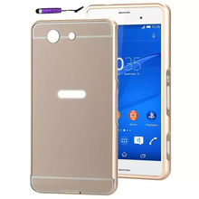 Buy Luxury Metal Hybrid case Sony Xperia Z3 Compact Hard Aluminum Protective back cover Sony Z3 mini for $2.75 in AliExpress store