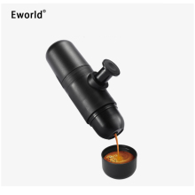 Mini Portable Compact Manual Espresso Maker Coffee Maker Hand Operated Capsules Coffee Machine Cappuccino For Outside Travel Use