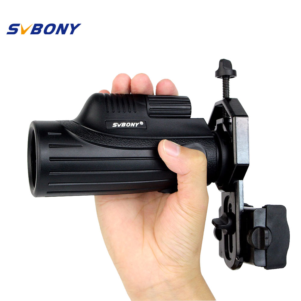 SVBONY 10x42 Monocular Telescope +Adapter Handheld Compact MC Lenses for Tourism Birdwatching Camping Hiking Hunting Travel <br><br>Aliexpress