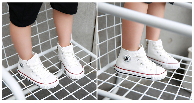 Enfants chaussures pour fille enfants toile chaussures garçons 21