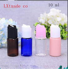 Free Shipping 10 ml Plastic New Style Originales Refillable Perfume Bottle Wholesale Retail Toner Empty Cosmetic Containes(China)