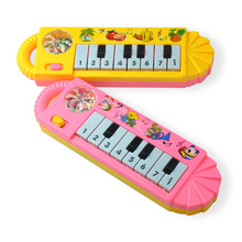 MINOCOOL Baby Toy Musical Instrument Kids Musical Educational Puzzle Small Eight-key Portable Music Keyboard Music Toys(China)