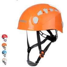 Adjustable Mountaineer Helmet Outdoor Safety Climbing Cycling Drifting Rappelling Protector Gear(China)