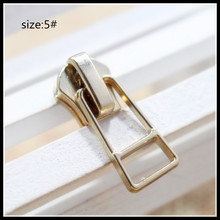 5# Wholesale 10pcs Zipper Sliders golden Metal Zipper Pulls zipper Head For Handbag/ Backpack/Clothing/Sewing Tailor Tools 061