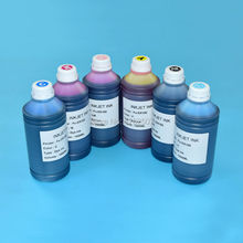 For Fuji DX100 UV Dye ink For Fujifilm DX100 Printing bulk ink 1000ml*6colors High quality Water based Bottle inks