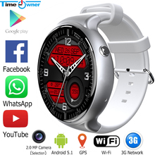 Time Owner TW2 Smart Watch Android 5.1 OS Bluetooth Clock 1G RAM 16G ROM 3G WIFI GPS Heart Rate Fitness Tracker App Installation