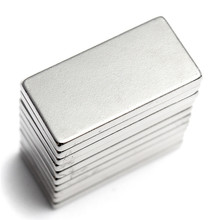 free shiping 6Pcs N35 20*10*2 Super Strong Neodymium Magnet Block Cuboid Rare Earth Magnets N35 20 x 10 x 2mm