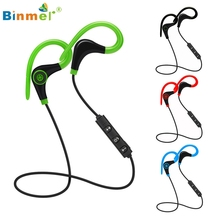 Hot Selling Wireless Bluetooth Headset SPORT Stereo Headphone Earphone for iPhone For Samsung For LG Free Mar3 Binmer