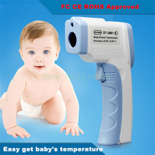 LCD Non-Contact IR Laser Gun Infrared Digital Thermometer Baby/Adult Body Thermometers Children Temperature Measurement Device
