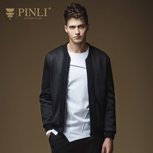 Mens Jackets And Coats Direct Selling Acetate Short Pinli 2016 New Fall Baseball Jacket Coat Collar Slim Male B163304086
