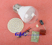 5PCS 38 LEDs Energy-Saving Lamps Suite without LED DIY Kits