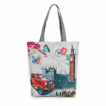London Big Ben Canvas Tote Casual Beach Bags Women Shopping Bag Handbags luxury handbags women bags designer wholesale #754914