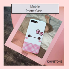 Cutie Hello Kitty IMD Soft TPU Skinny Cover Case For Mobile Phone 7/7plus 6/6s and 6 plus/6s plus Skin Body Protector Cover Case(China)