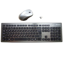 MAORONG TRADING Original Russian Wireless Keyboard and Mouse Set for Asus computer laptop Ultra Blue Blu-ray Russian layout