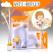 New Born baby nose cleaner vacuum aspirador Safety Nasal Aspirator aspirateur nez bebe nasal Aspirator suction for baby Care(China)