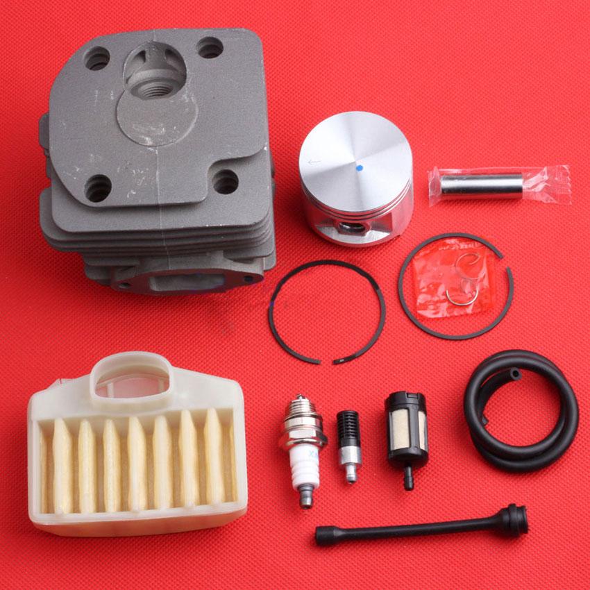 New 50mm Cylinder Piston Pin &amp; Bearing Kits for HUSQVARNA 362 365 371 372 372XP<br>