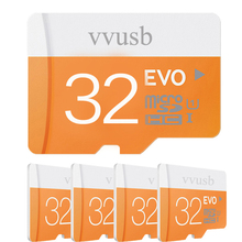 VVUSB Transcend Micro SD Card 64GB/32GB/16GB Class10 Memory Card Flash Memory Cartao Micro SDHC XC for Phone/Tablet/Camera
