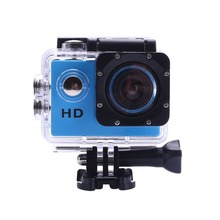 CCewaal 2.0 Inch Action camera HD 4X Zoom 30m Waterproof  Helmet Cam camera Swimming Camcorder Climbing Sport Camera 90D(China)