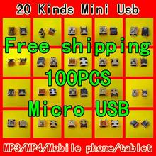 Computer connector For/Samsung/Lenovo/Huawei /Zte/Coolpad /Android Mob phone Netbook Tablet Mni Micro USB  port 20 Kinds