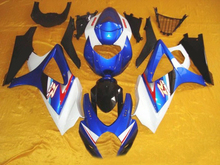 Motorcycle Fairing Kit for SUZUKI GSXR1000 K7 07 08 GSXR 1000 2007 2008 gsxr1000 07 08 Cool white blue Fairings set+7gifts SH22(China)