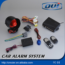 High quality! vehicle alarm anti-hijacking car door alert car alarm with auto central locking system(China)