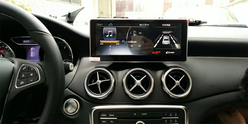 Liislee Car Multimedia Player NAVI For Mercedes Benz MB GLA Class X156 2014~ 2018 Car Radio Stereo GPS Navigation (8)
