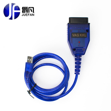 HOT! New Arrival ELM327 OBD2 USB Cable Diagnostic Scan Tool Interface For Audi VW SEAT SKODA Car scan tool(China)
