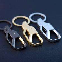 New Fashion High-end&Cool Keychain Gift Key Holder Keyfob for Men Custom Made Keychain Car Business Keychain(China)