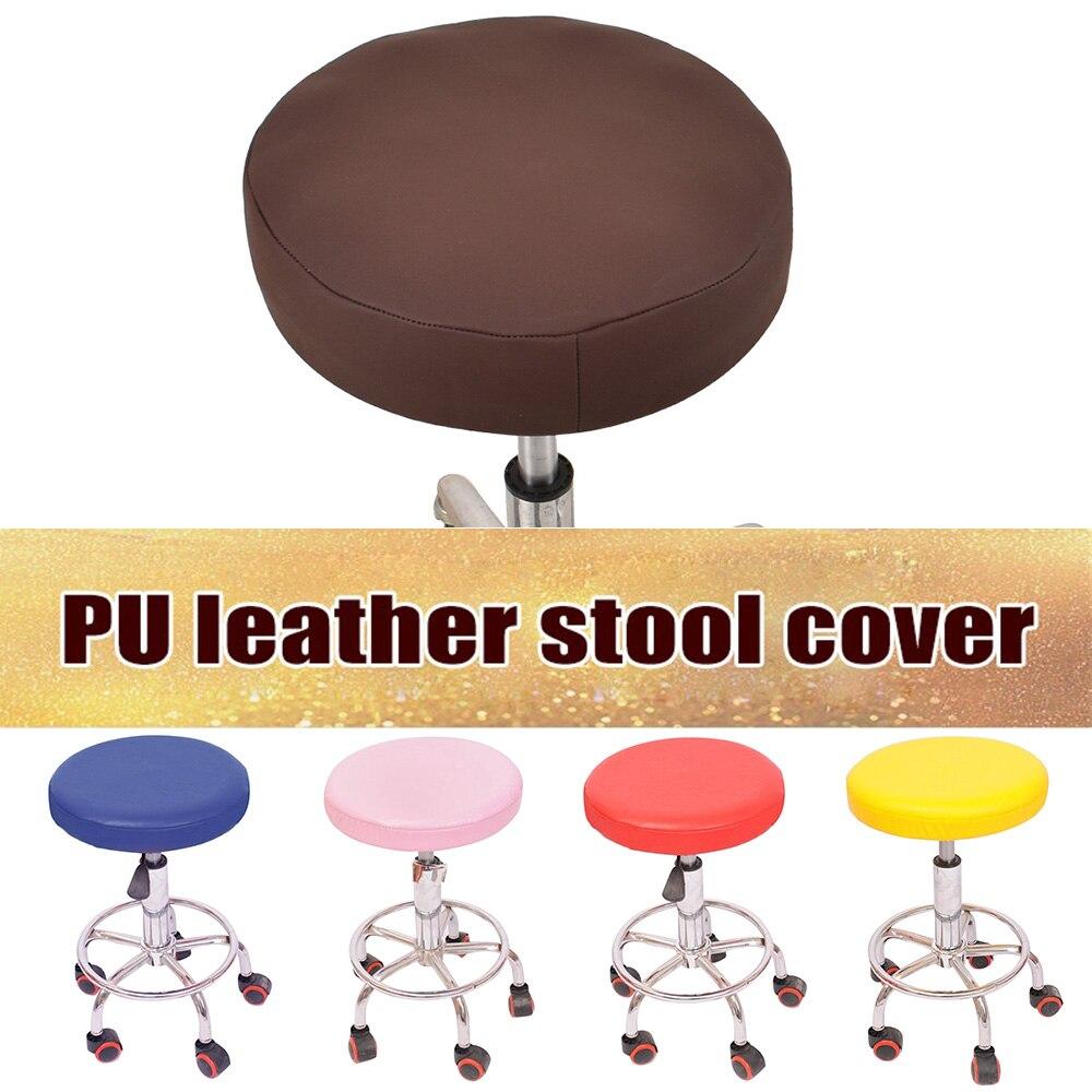 Pu Leder Stretch Spandex Sessel von Kissenhüllen Home Deckel Hochzeitsdekoration